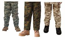 Kids Military Type Digital BDU Pants - Childs Army Uniform BDUs