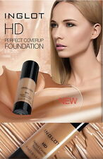 NEW !! INGLOT - HD PERFECT COVERUP FOUNDATION NEW !!