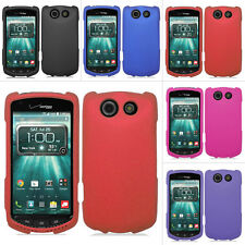 For Kyocera Brigadier E6782 Color Rubberized Hard Case Snap On Cover Accessory