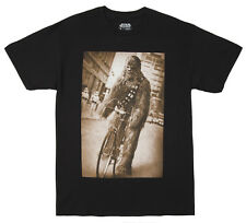 Officially Licensed NWT Star Wars Chewbacca Bicycle Chewie Adult T-Shirt