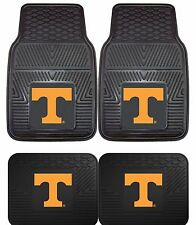 Tennessee Volunteers NCAA Floor Mats 2 & 4 pc Sets for Cars Trucks & SUV's