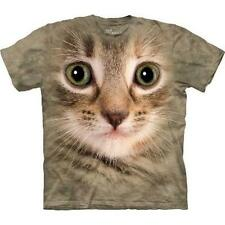 Tabby Kitten Face-Cat T Shirt By The Mountain-Child Sizes To Adult 5XL