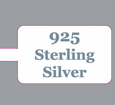 Sterling Silver 925 Extra Strong Ring / Jewellery Price Stickers Labels Dumbells