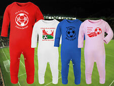 BARNSLEY Football Baby Romper Suit Sleep Personalised Cute Gift- Any team/colour