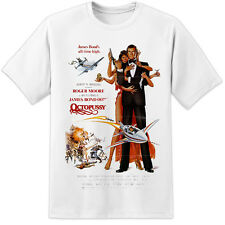 JAMES BOND 007 OCTOPUSSY MOVIE POSTER T SHIRT S-3XL - RETRO HIGH QUALITY PRINT