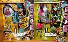 Mattel Monster High I Love Fashion Doll Cleo De Nile or Venus McFlytrap Bnib!