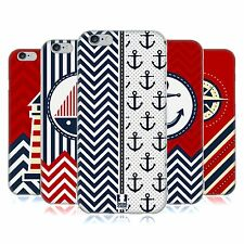 HEAD CASE NAUTICAL CHEVRON GEL BACK CASE COVER FOR APPLE iPHONE 6 4.7
