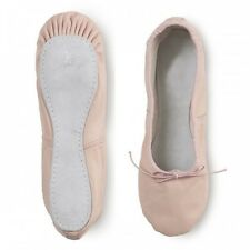 NEW YOUTH GIRLS CAPEZIO DANCE PINK TEKNIK LEATHER BALLET SLIPPERS MANYSIZES