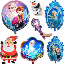 Santa Frozen Snow Aluminum Foil Helium Balloons Party Christmas Home Decor Gift