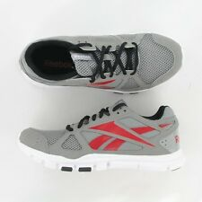 Reebok YOURFLEX TRAINER V51758 Grey/Red  Sizes 8.5  thru 13