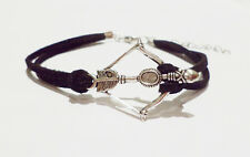 Walking Dead Crossbow Bow and Arrow Games Bracelet for Daryl Dixon Hunger Fans