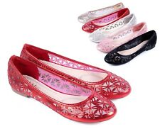 5 Color Casual Slip On New Blink Nets Style Narrow Womens Ballet Flats Shoes