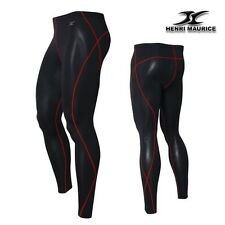Mens Compression Long Pants Tight Leggings Under Base Layer Functional Fabric PR