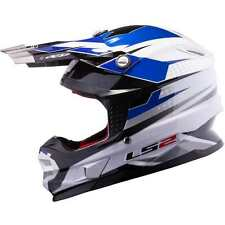CASCO CROSS/ENDURO MX456 FACTORY IN FIBRA DI VETRO INTERNO ESTRAIBILE BLU