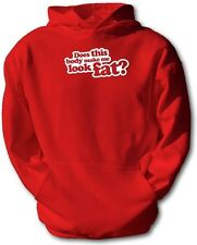 does this body make me look fat, hoddie, funny mens personalised hoddie