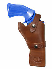 "NEW Barsony Brown Leather Western Style Gun Holster for Taurus 4"" Revolvers"