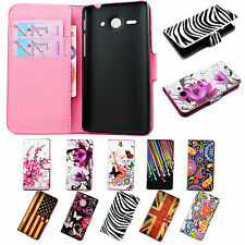 New Book Flip Leather Wallet Cover Case Stand For Huawei Ascend Mobile Phone