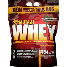 PVL Mutant Whey 4540g Whey Protein Isolate und Concentrate+Gratis Protein Riegel