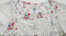John Rocha Debenhams pretty White Floral Print Cotton Nightdress bnwot 8 -20