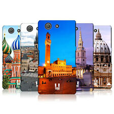 HEAD CASE DESIGNS FAMOUS CITY SQUARES CASE FOR SONY XPERIA Z3 COMPACT D5833