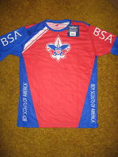 BOY SCOUT OFFICIAL SPF35 JERSEY SHIRT MADE IN THE USA YOUTH SIZE SMALL MEDIUM