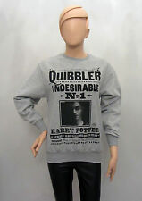 Primark Official HARRY POTTER QUIBBLER NEWSPAPER JUMPER SWEATSHIRT