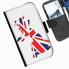 Flags  Leather wallet personalised phone case for Samsung Galaxy