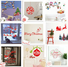 New Year Merry Christmas Kids' Room Cute Removable DIY Window/ Wall Sticker PVC