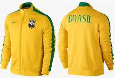 Nike CBF N98 Brazil Authentic Soccer Track Top Jacket Brasil World Cup 589852703