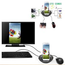 OTG MHL to HDMI Multi-function Charger Dock 4 Samsung Galaxy Note 10.1 2014 P600