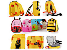 Toddler Child Safety Harness Reins Rucksack Backpack Insulated Lunch Bag 3 in 1