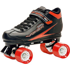 NEW! ROLLER DERBY VIPER M4 QUAD SPEED SKATES MENS ABEC 5