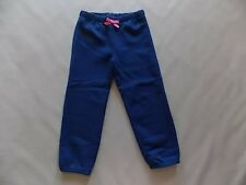 NWT Girl's Gymboree navy blue elastic capri pants sweatpants ~ 5 6 7 8 FREE SHIP
