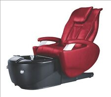 Pedicure Spa Chair for Nail Salon BURGUNDY NEW IN BOX