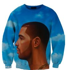 Drake Nothing Was The Same NWTS All Over Print Sweatshirt Jumper Sweater