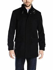 Cole Haan Mens Outerwear 534AW506 Italian Twill Car Coat W/