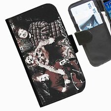 Ed Sheeran personalised Leather wallet phone case for iPhone 6 and iPhone 6 plus