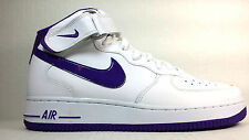 AIR FORCE 1 MID '07 WHITE/COURT PURPLE 315123-120 JUNE 2013 RELEASE