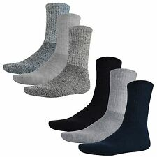 Mens Thermal Boot Warm Winter Thick Heat Socks Work Walking 3 Pair Pack UK 6-10
