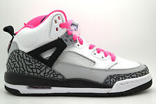 [535712-109] NIKE GIRLS SPIZIKE (GS) GRADE SCHOOL SHOES WHITE HYPER PINK BLACK C