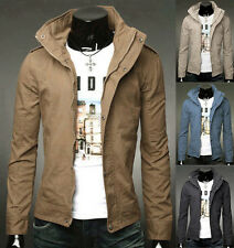 FOR BLACK FRIDAY Winter Men's Sweatshirt Coats Trendy Trench Casual Slim Jackets