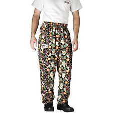 Chefwear 3500-51 Ultimate Chef Pant Carnival all sizes XS-5XL NEW!