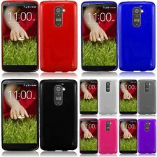 For LG G2 Frosted TPU Gel Phone Cover Case