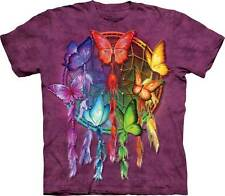 New RAINBOW BUTTERFLY DREAMCATCHER Youth T Shirt