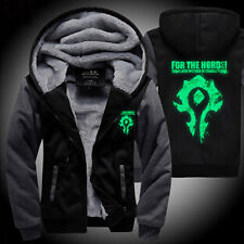 World of Warcraft Dota 2 Jacket Cosplay Zipper Sweater Sweatshirt Sports Hoodie