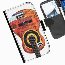 Oasis Band personalised leather wallet phone case for Sony Xperia SP + Z Compact