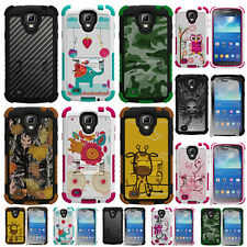 For Samsung Galaxy S4 Active i537 Hybrid Tough Defender Hard Case Cover Stand