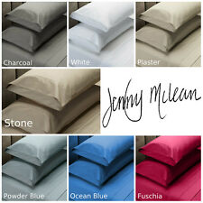 JENNY MCLEAN 1000TC 100% COTTON Fitted Sheet Set Double | Queen | King | Mega