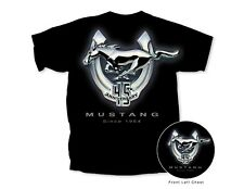 Mustang 45th Anniversary T-Shirt - Black - eBay Exclusive! Low Price & Free Ship