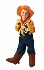 Kids Disney Toy Story Deluxe Cowboy Woody Boys Fancy Dress Costume Party Outfit